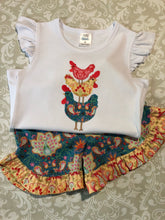 Chicken Applique outfit