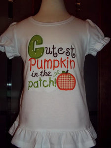 Cutest Pumpkin in the Patch tee