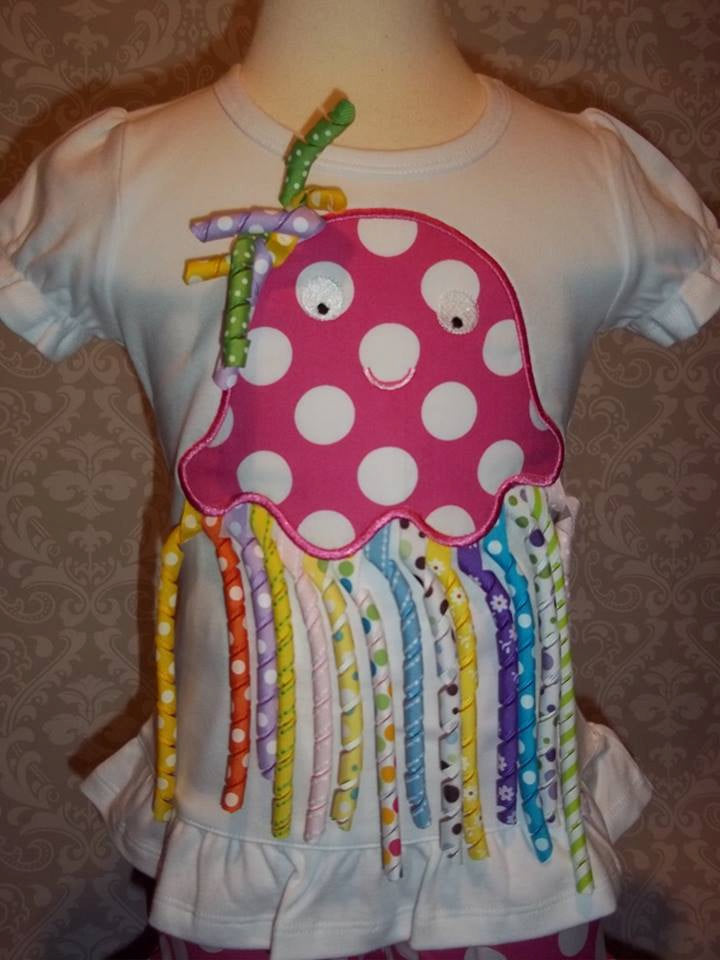 Curly Ribbon Jellyfish tee