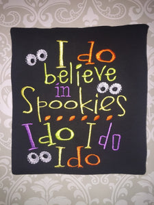 I do believe in spookies Halloween tee