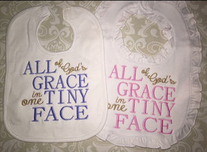 All God's Grace bibs