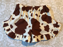 Off the shoulder cowgirl shorts set