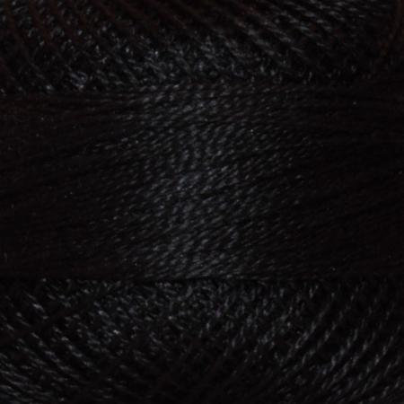 Finca Perle' Cotton Size 8 - Black