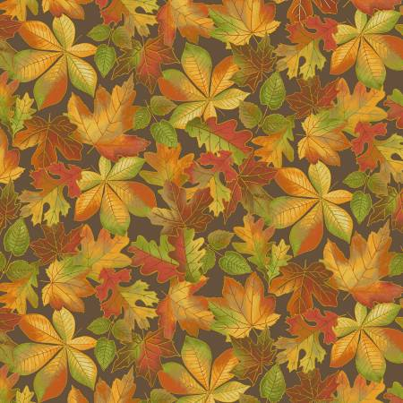 Fall Leaves - Brown