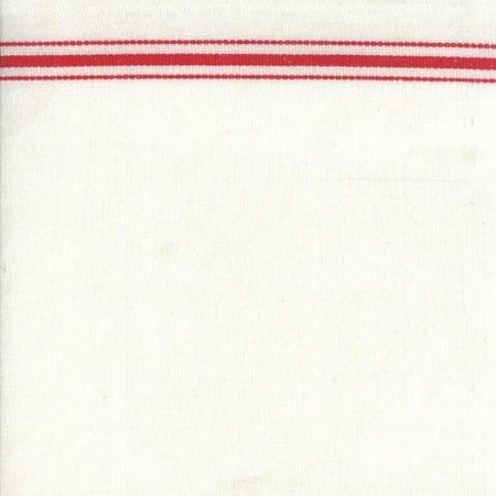 "Moda Toweling 16"" - White Red"