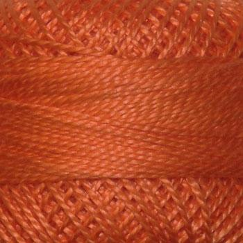 Finca Perle' Cotton Size 8 - Medium Apricot