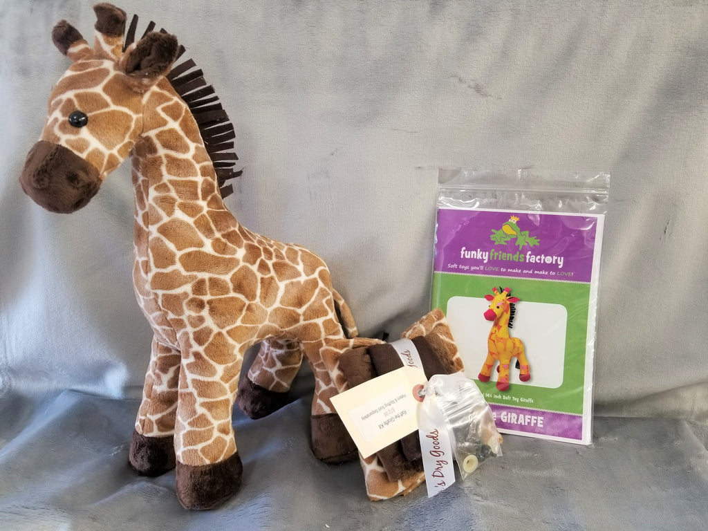 Raff the Giraffe Kit - Cuddle