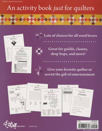 Happy Quilter Variety Puzzles Volume 2 - Softcover Book