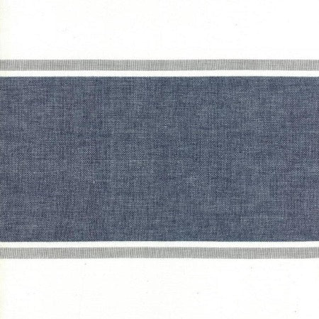 "Moda Toweling 16"" Picnic Point Tea - Navy Grey"
