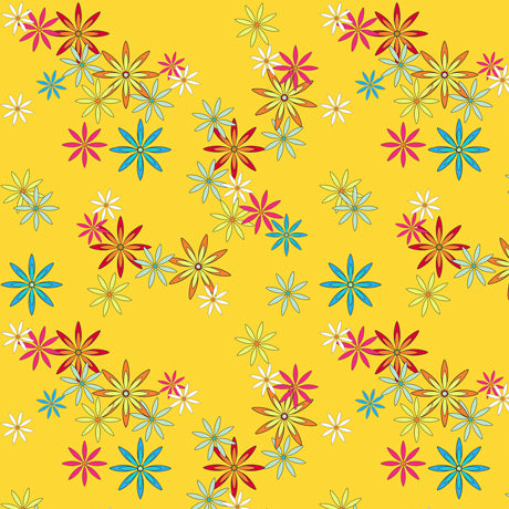 Party Like a Unicorn Flowers - Yellow
