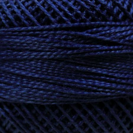 Finca Perle' Cotton Size 8 - Royal Blue