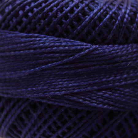 Finca Perle' Cotton Size 8 - Very Dark Royal Blue