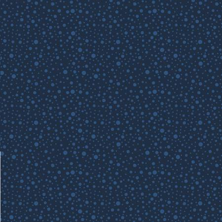 Dotty Dots - Navy on Navy