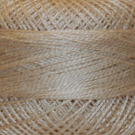 Finca Perle' Cotton Size 8 - Dark Ecru