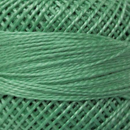 Finca Perle' Cotton Size 8 - Medium Seagreen