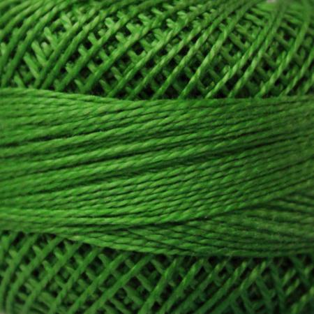 Finca Perle' Cotton Size 8 - Kelly Green