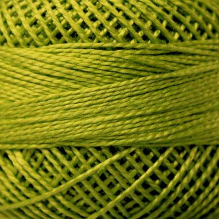 Finca Perle' Cotton Size 8 - Moss Green