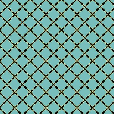 Grand Illusion Lattice - Turquoise w/Metallic