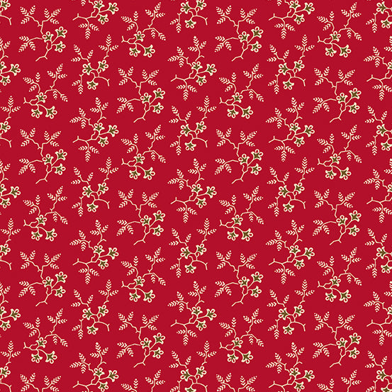 Agatha's Garden Floral Branches - Red