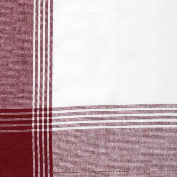 McLeod No Stripe Towel Red White