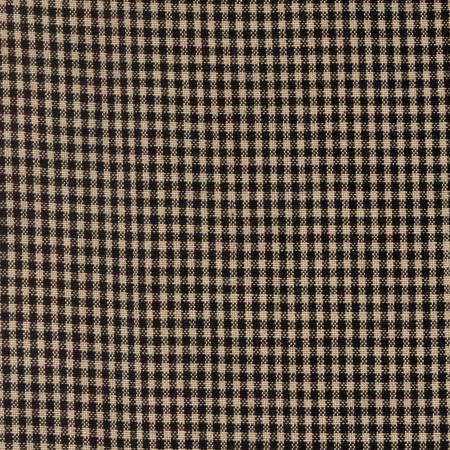 Mini Check Towel Black Teadye