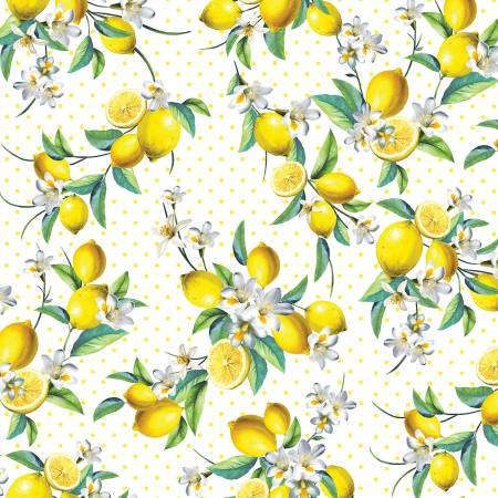 Lemon Fresh Bouquet - White