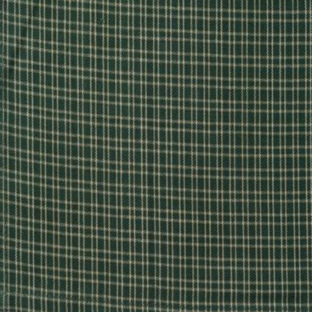 Reverse Double Pane Towel Green Teadye