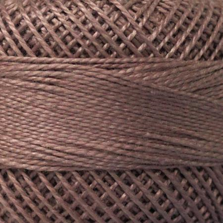 Finca Perle' Cotton Size 8 - Dark Taupe