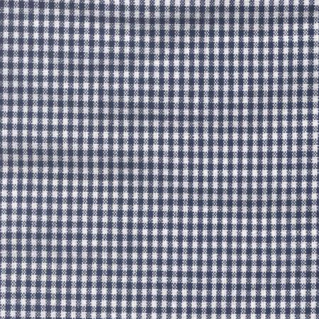 Mini Check Towel - Navy & White