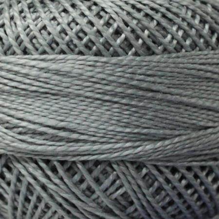 Finca Perle' Cotton Size 8 - Light Pewter