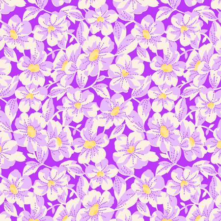 Nana Mae 4 1930's Reproduction Large Daisy - Purple