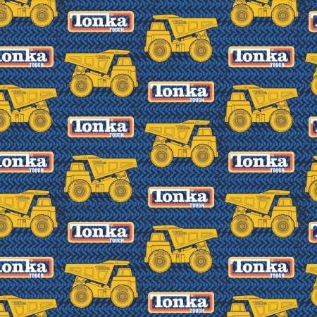Tonka Tracks & Trucks - Blue