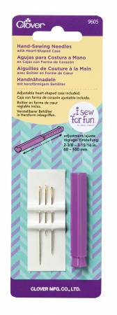 I Sew For Fun Hand Sewing Needles With Heart Shaped Case