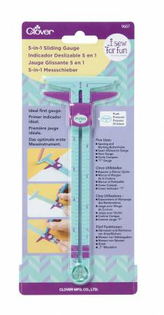 I Sew For Fun 5-in-1 Sliding Gauge