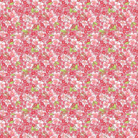 Packed Floral - Pink