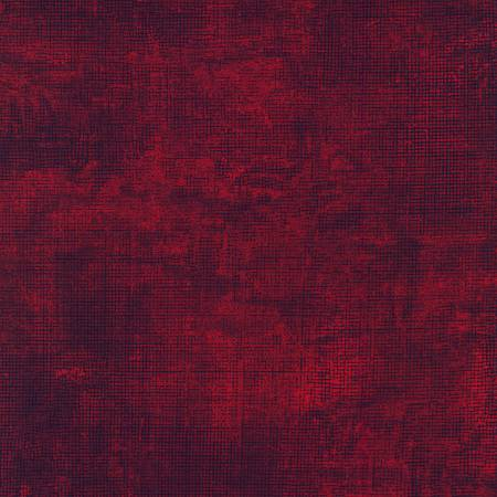 "108"" Wide Backing Chalk & Charcoal Textured - Crimson"