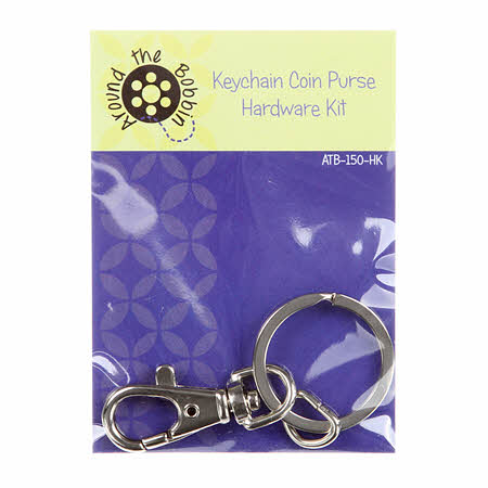 Keychain Coin Purse Hardware Kit