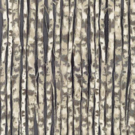Winter White Solstice Birch Tree - Grey w/Metallic