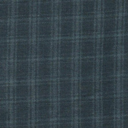 Chatsworth Homespun Plaid - Blue Suede