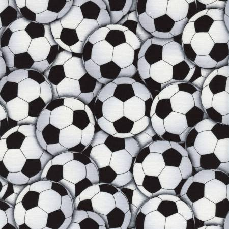 Packed Soccer Balls - White
