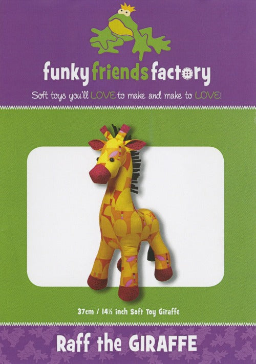 Raff the Giraffe Pattern