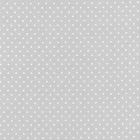 Flannel Tiny Dots - Silver