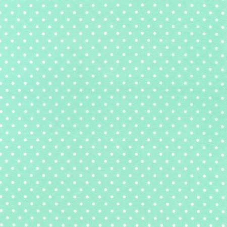 Flannel Tiny Dots - Mint