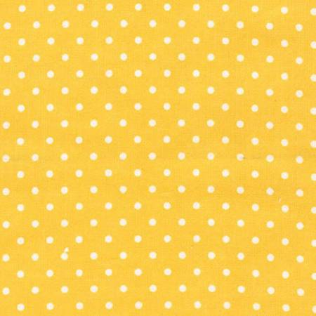 Flannel Tiny Dots - Yellow