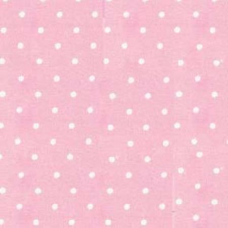 Flannel Tiny Dots - Rose