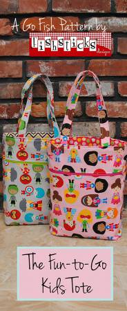 Fun-to-Go Kids Tote Pattern