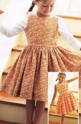 Ella's Party Dress Pattern
