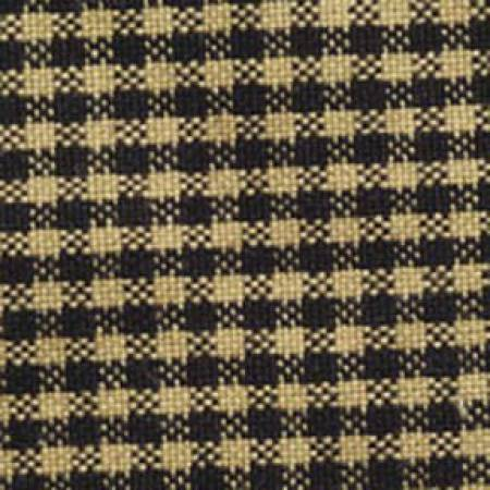 Homespun Mini Check - Black/Teadye