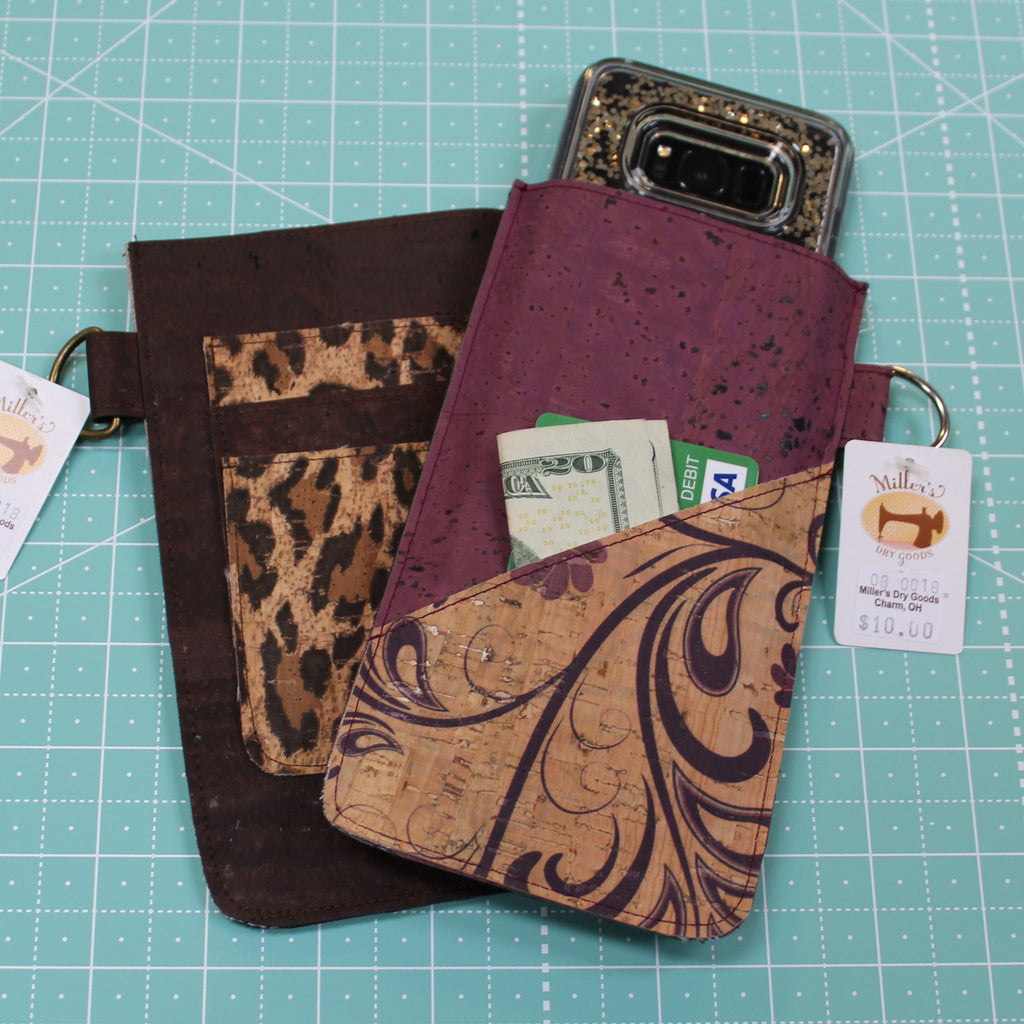 Cork Cell Phone Case / Card Holder
