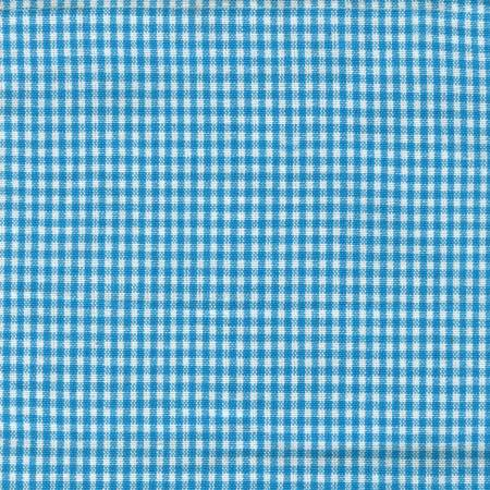 Mini Check Towel Turquoise White